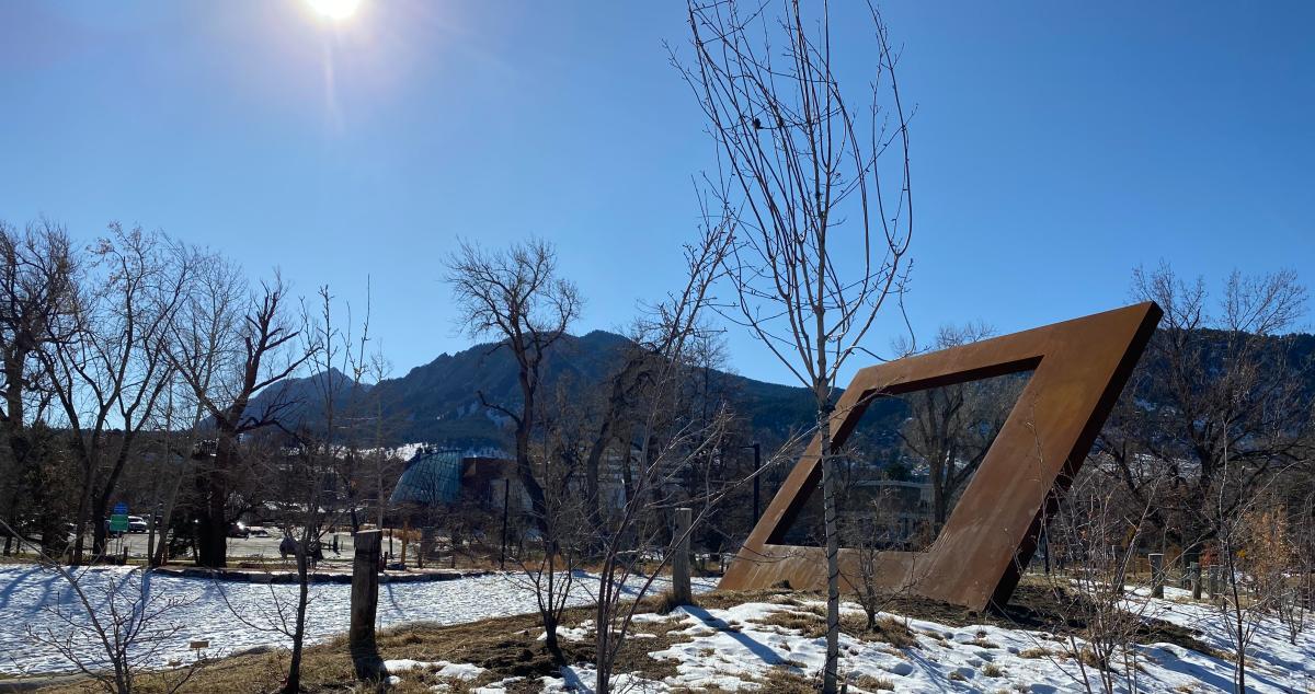 55 Degrees Boulder Art Installation