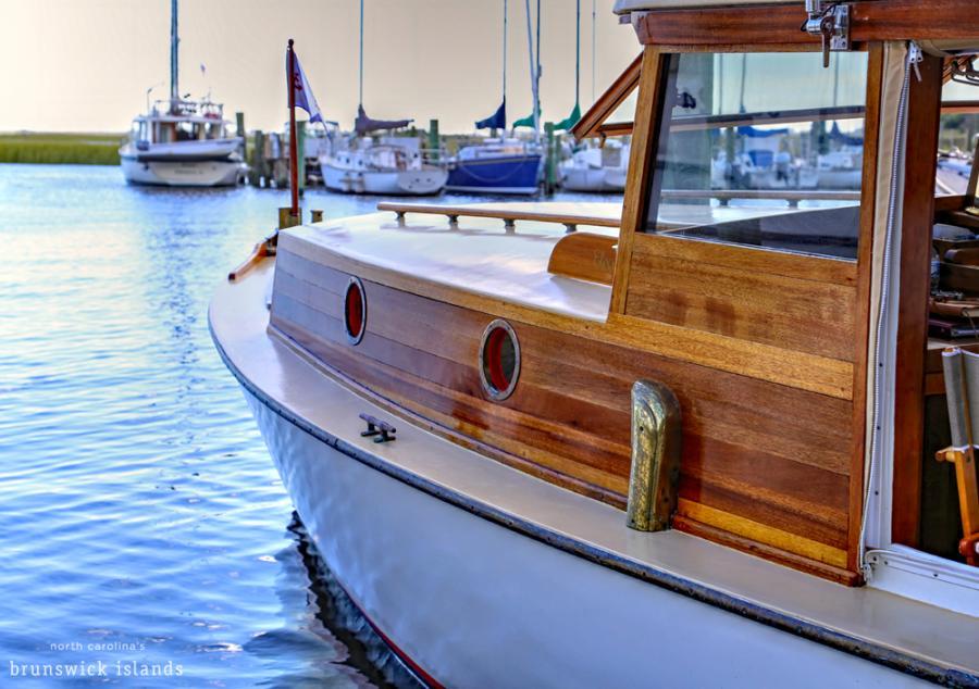 Southport Wooden Boat Show, Southport North Carolina