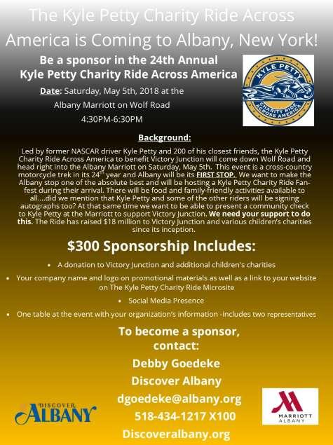 Kyle Petty Flyer