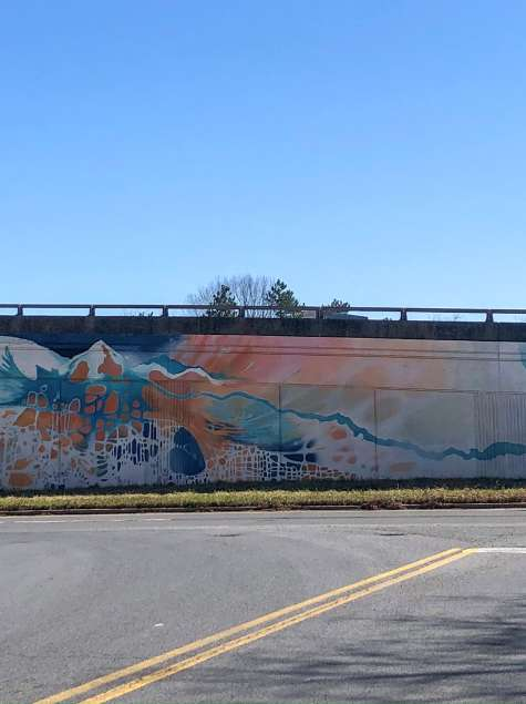 "Meet The Murals: ""The River That Flows In Two Directions"" by Rachel Baxter"