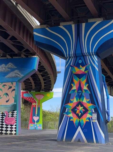 """Meet The Murals: """"Journey"""" by Arzu Fallahi"""