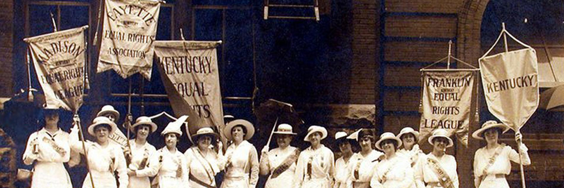 Kentucky Women Marching in St. Louis