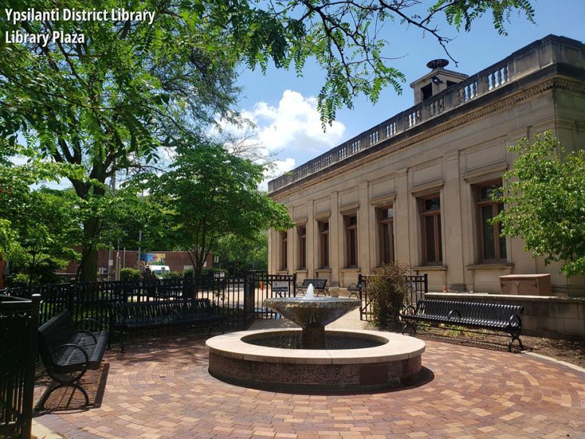 Ypsilanti District Library Liberty Plaza