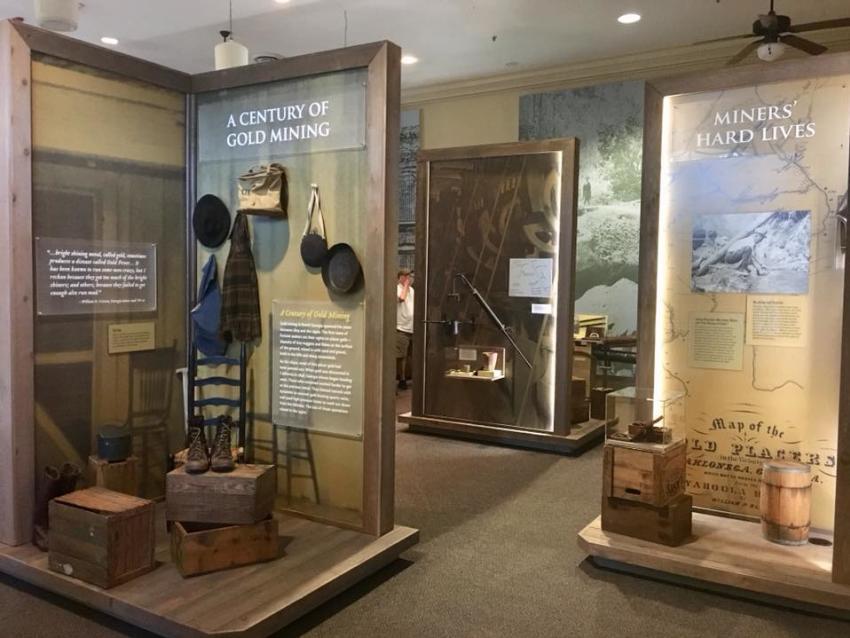 Dahlonega Gold Museum Exhibit