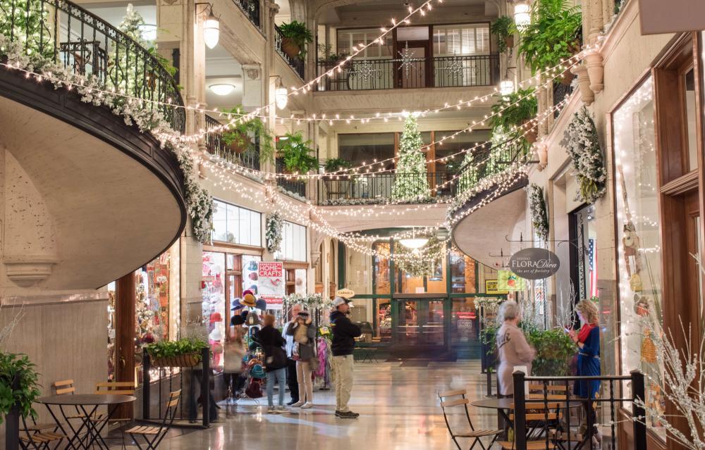 Grove Arcade Winter Wonderland
