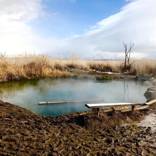 Saratoga Hot Springs Muddy