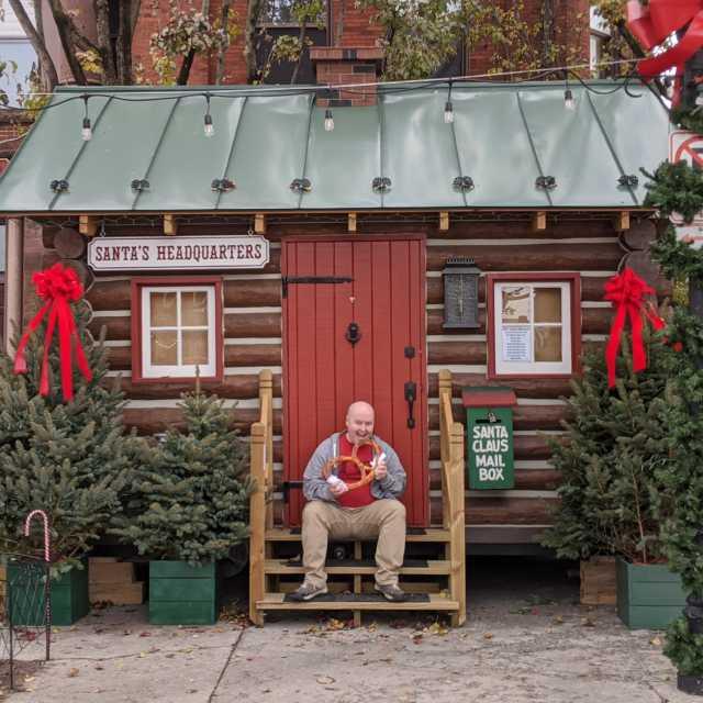 DTN Pretzel Man @ Santa