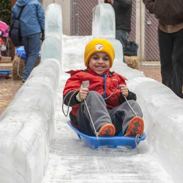 FestiveIce ice slide
