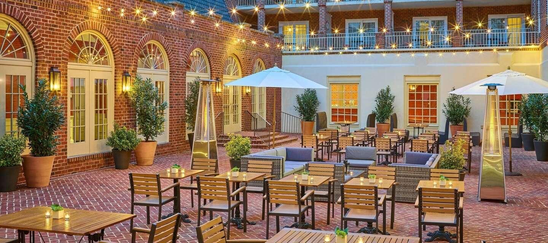 Alexandrian Courtyard