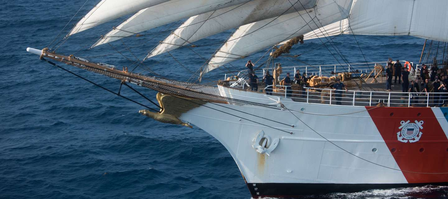 Eagle Tall Ship Bow