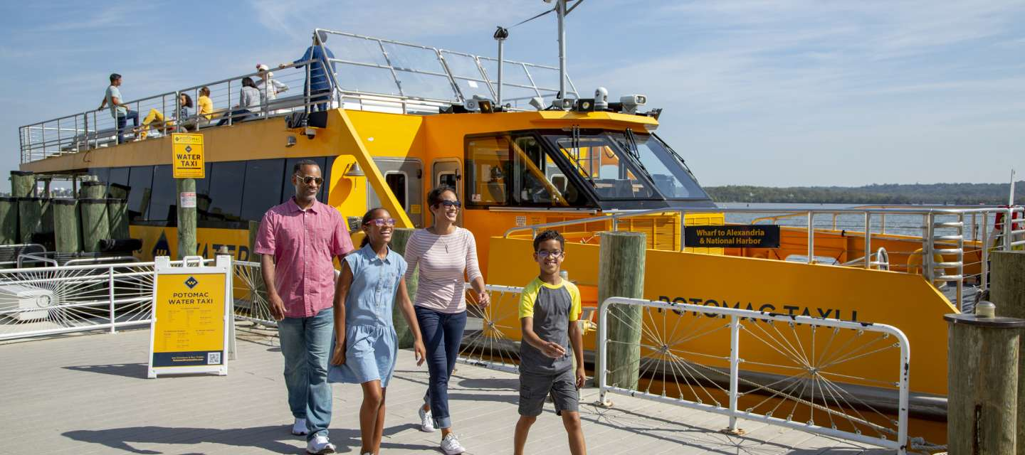 Family at Water Taxi