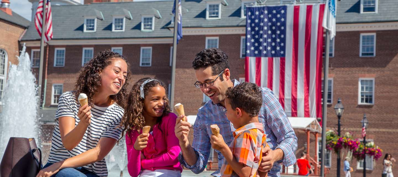 Family Ice Cream Market Square
