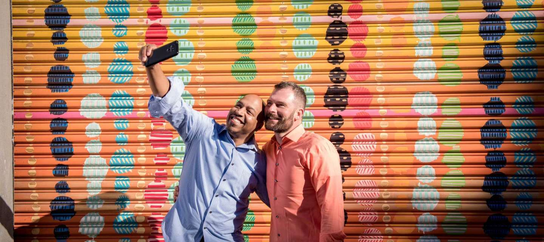 LGBT Mural Selfie