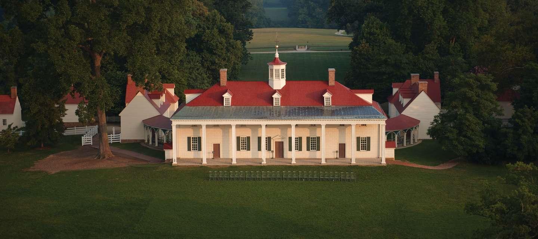Mount Vernon Aerial View