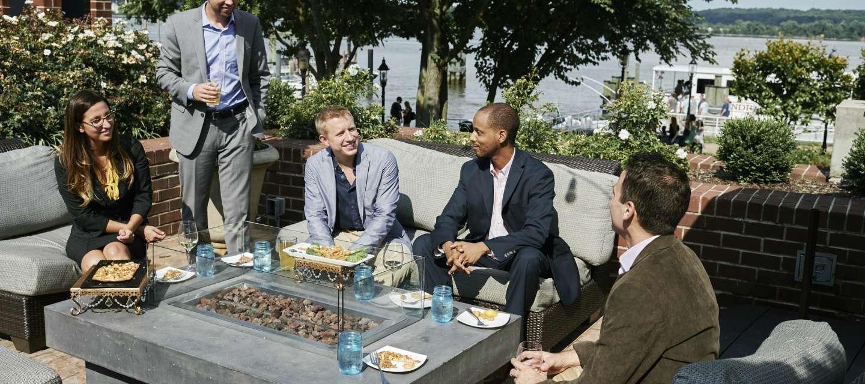 Outdoor Business Meeting