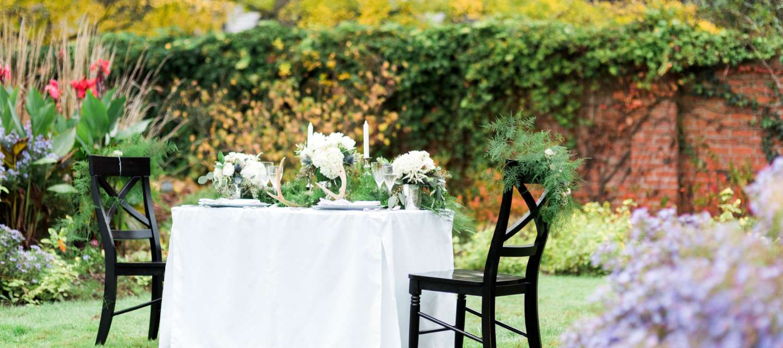 Scotch wedding table