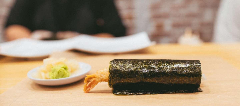 The Handover sushi