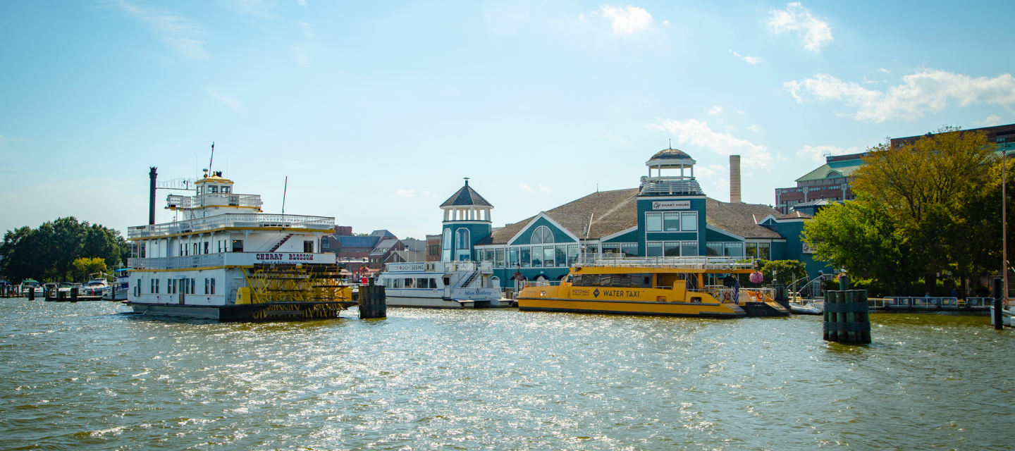 Water Taxi and Waterfront