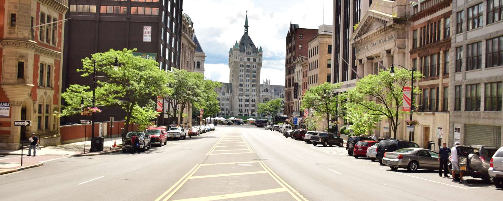 Downtown Albany view from State Street