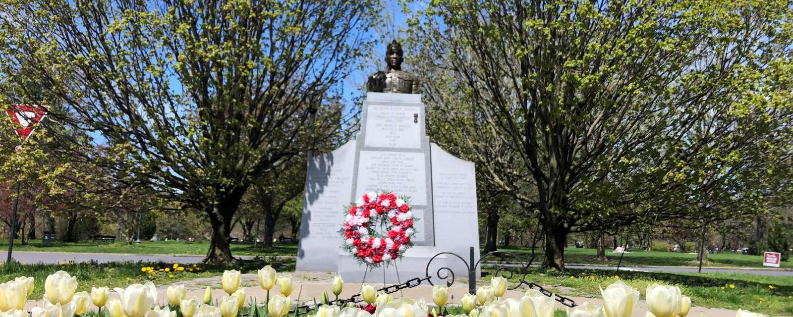 Henry Johnson in Washington Park