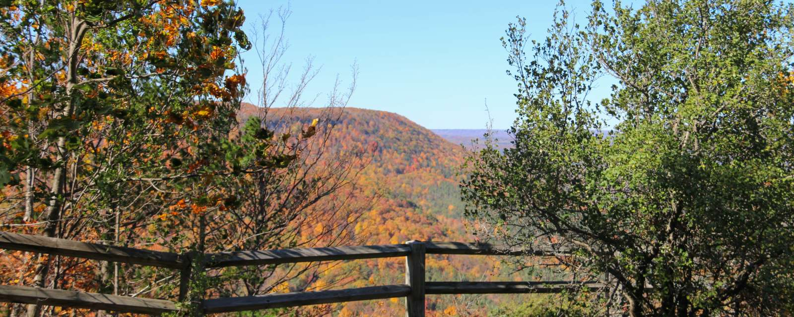 John Boyd Thacher State Park in the Fall