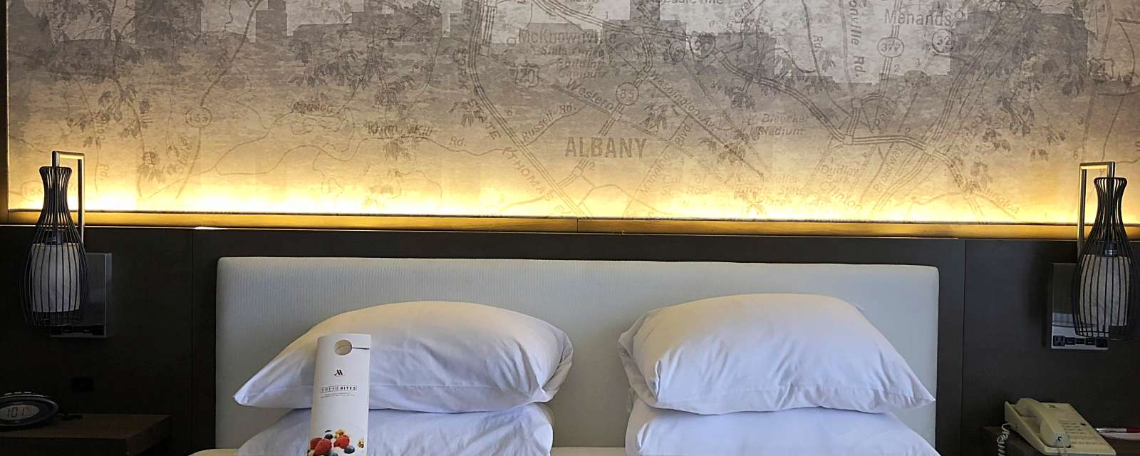 Albany Marriott Hotel rooms