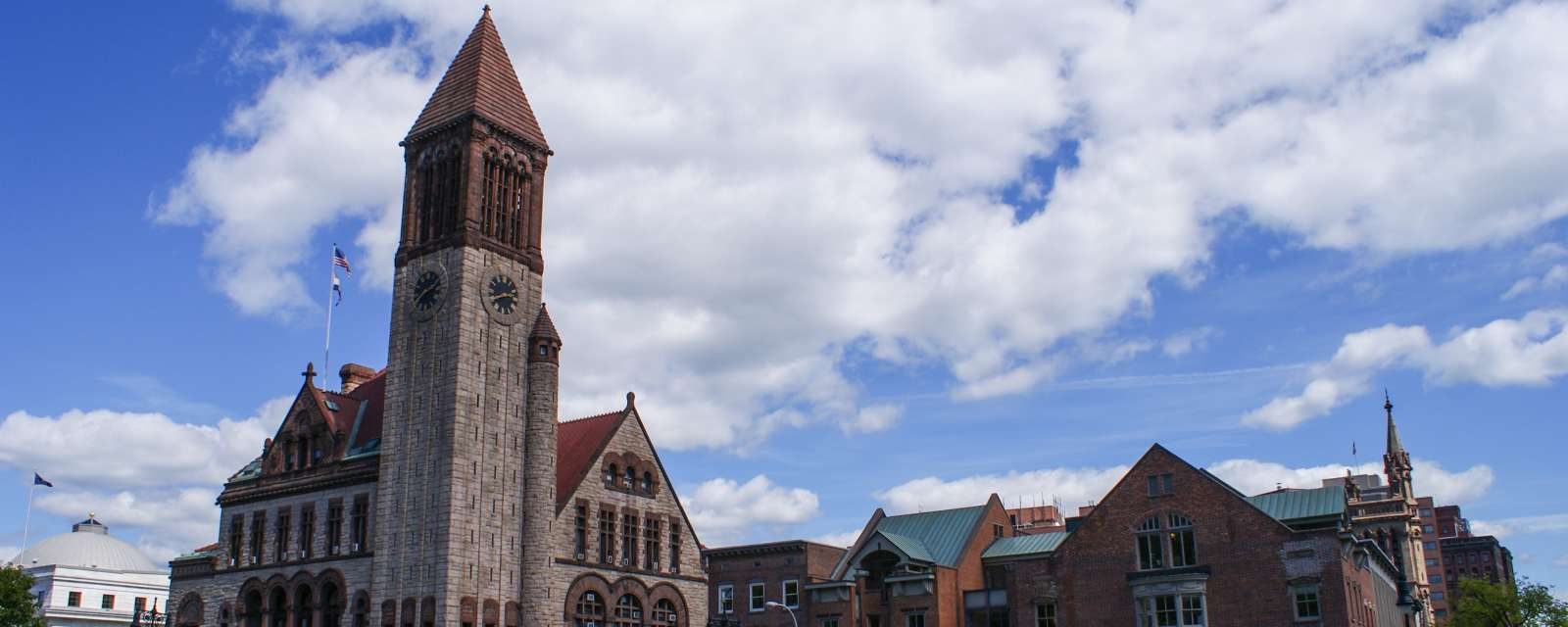 Albany City Hall header