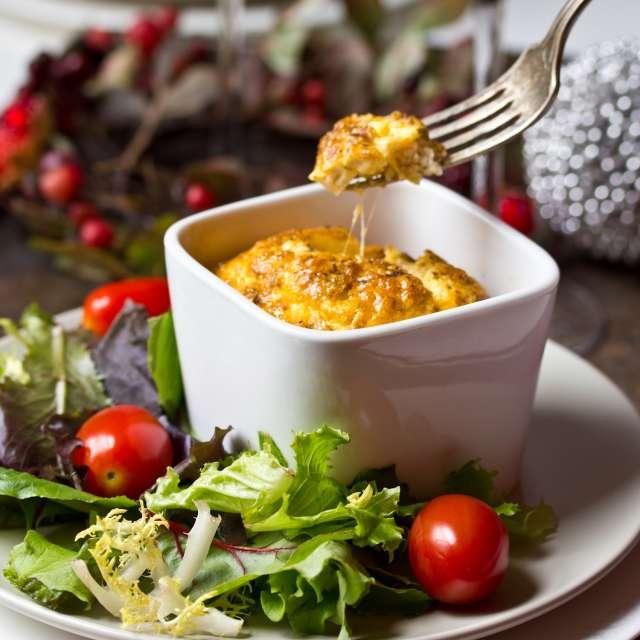 Pesto Egg Souffle Recipe