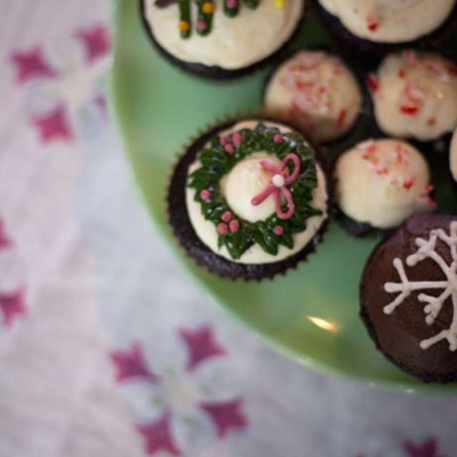 Chocolate Peppermint Cupcakes Recipe