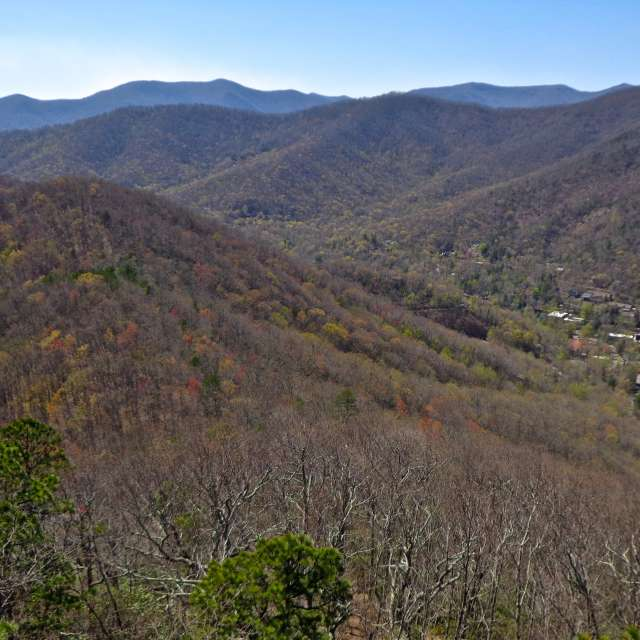 Lookout Trail Hike in Montreat