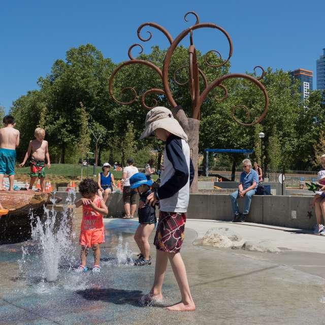Bellevue Downtown Park Inspiration Playground