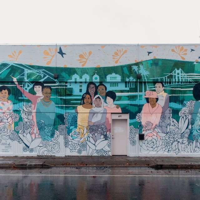 LVLU Mural