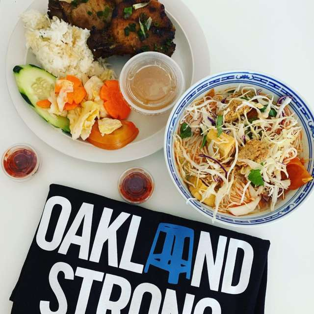 Oakland Strong From Home Photo