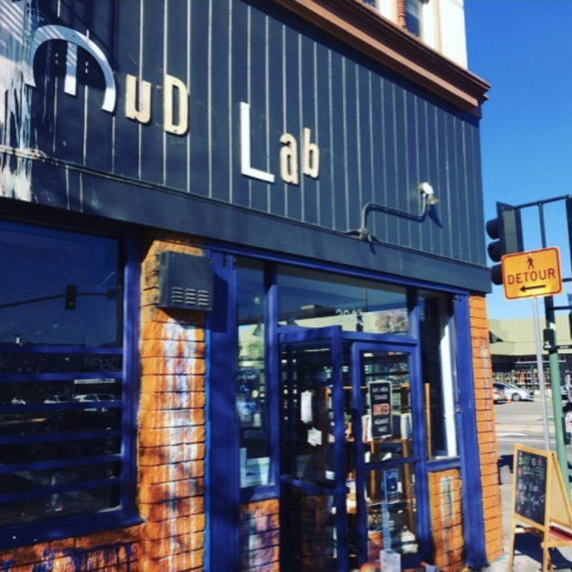 Mud Lab grocery store exterior