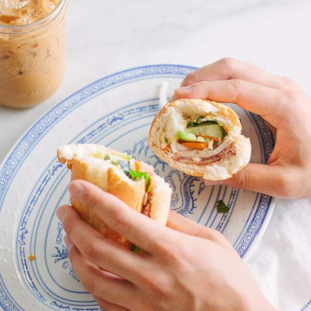 Banh Mi Sandwich Photo