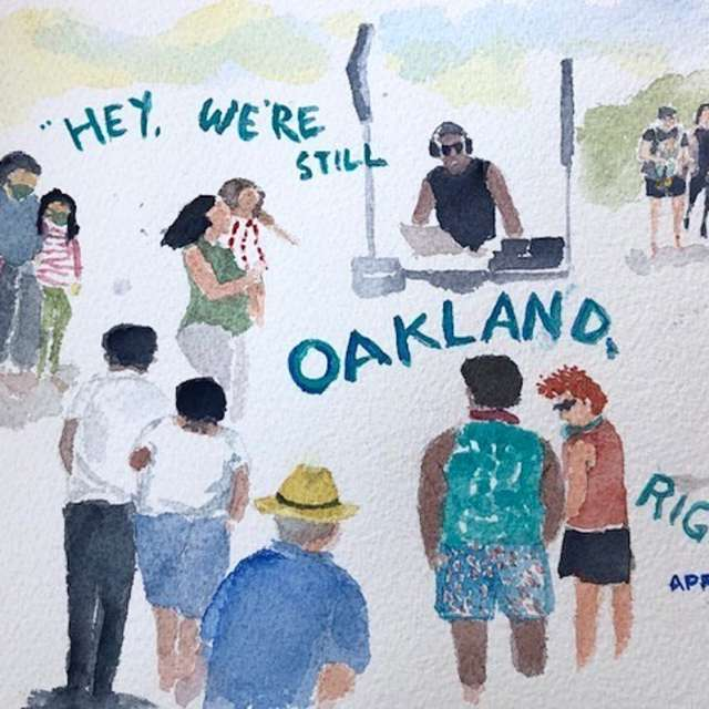 Oakland Arts and Crafts Photo
