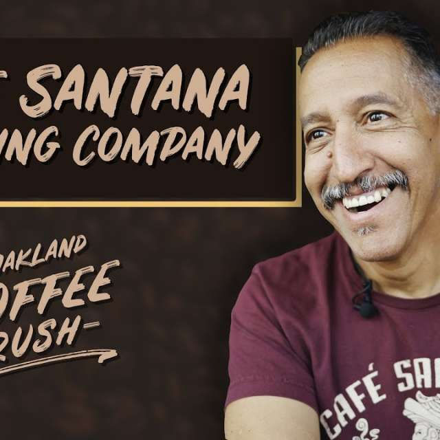 Cafe Santana Roast Company in Oakland Banner