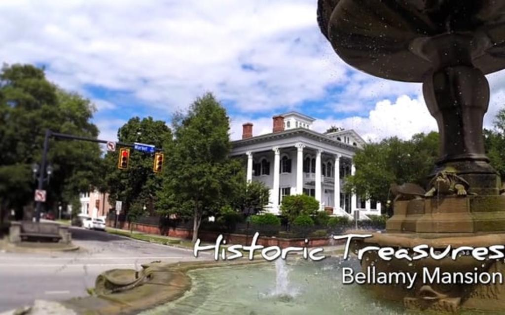 Go With the Flow....Bellamy Mansion