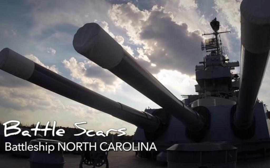 Go With the Flow....Battleship NORTH CAROLINA