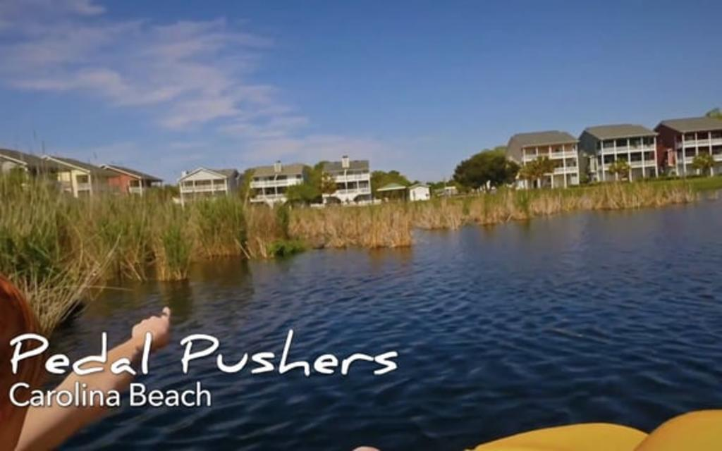 Go With the Flow....Carolina Beach Pedalboats & Bikes
