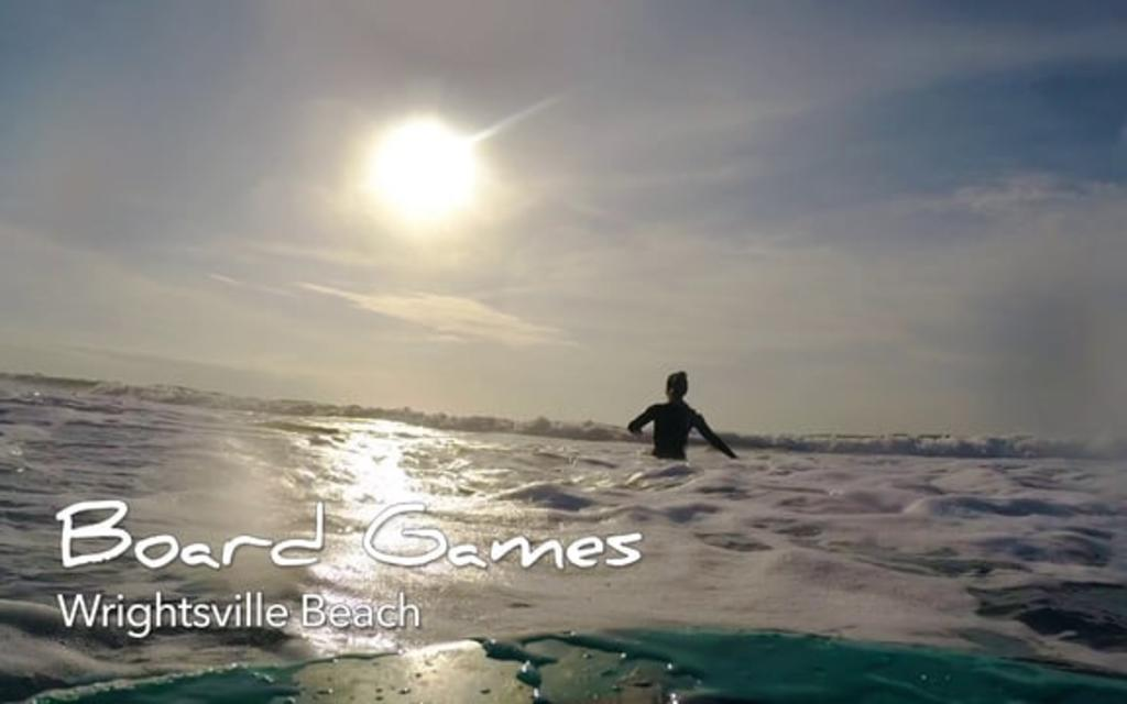 Go With the Flow....Surfing at Wrightsville Beach