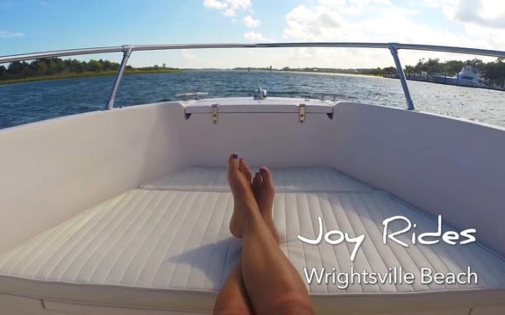 Go With the Flow....Boating & Fishing in Wrightsville Beach