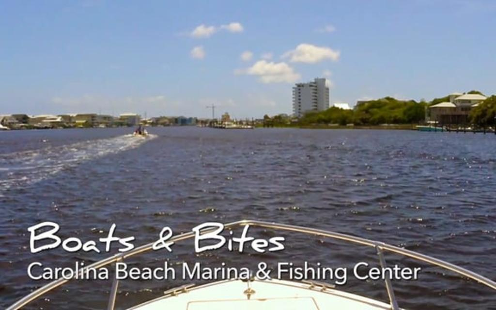 Go With the Flow....Carolina Beach Marina & Fishing Center