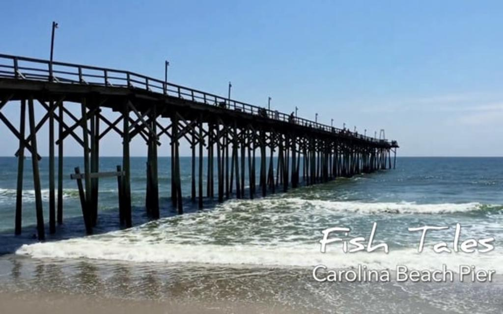 Go With the Flow....Carolina Beach Fishing Pier