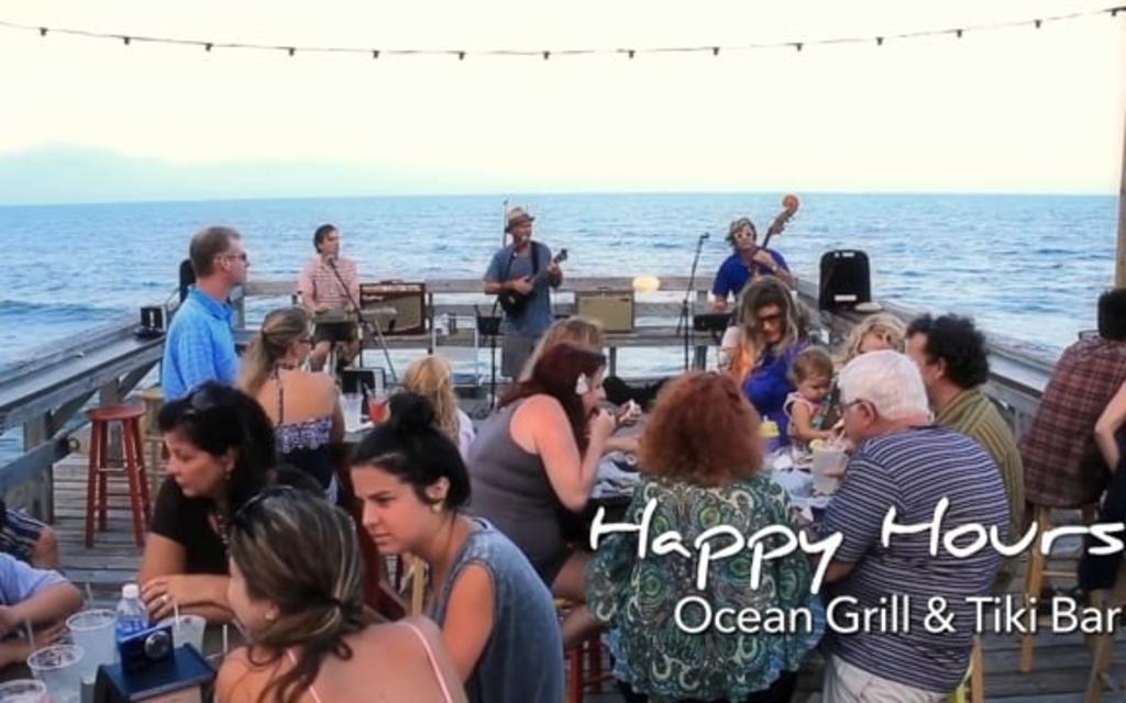 Go With the Flow...Ocean Grill & Tiki Bar - Carolina Beach