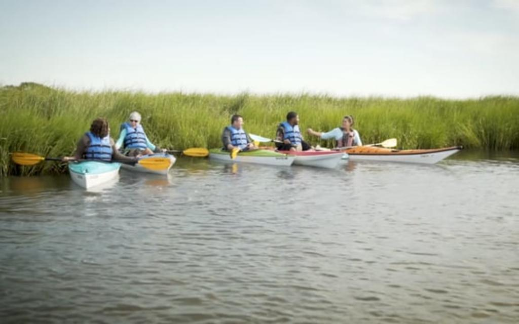 Kayaking in Kure Beach