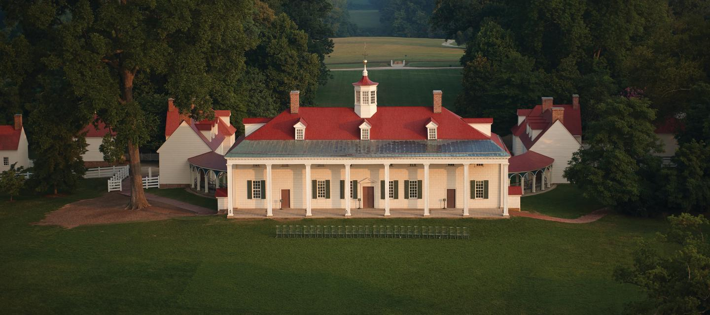 Front Of Mount Vernon House