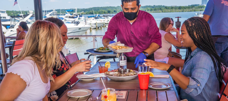 Vola Dockside Outdoor Dining
