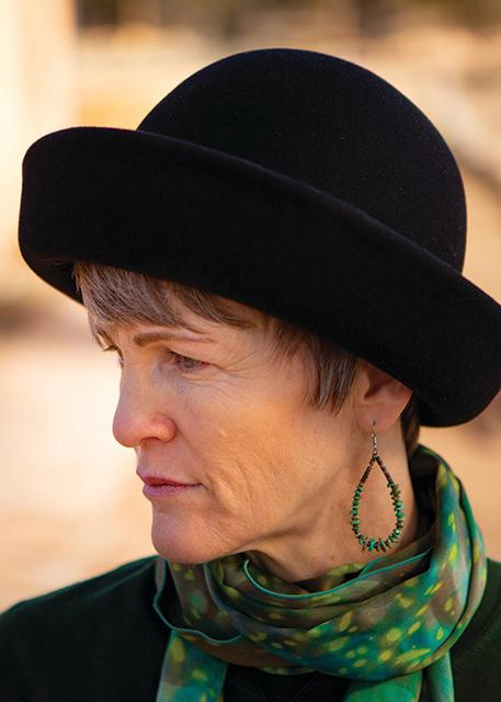Georgia O'Keeffe-Inspired Hat at Ghost Ranch