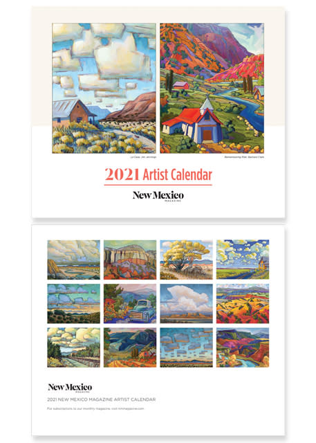 New Mexico Magazine Calendars, 2020 Gift Guide